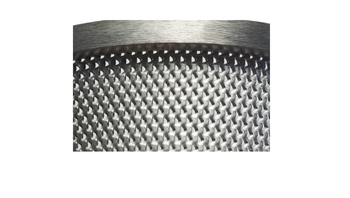 Bottom sieve 0.12 mm trapezoidal perforation made of stainless steel